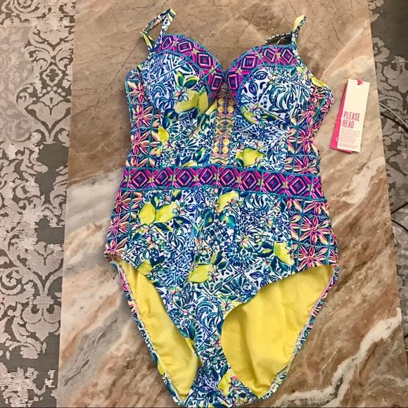 f6e1903aed Lilly Pulitzer Swim | Nwt Palma One Piece Suit | Poshmark